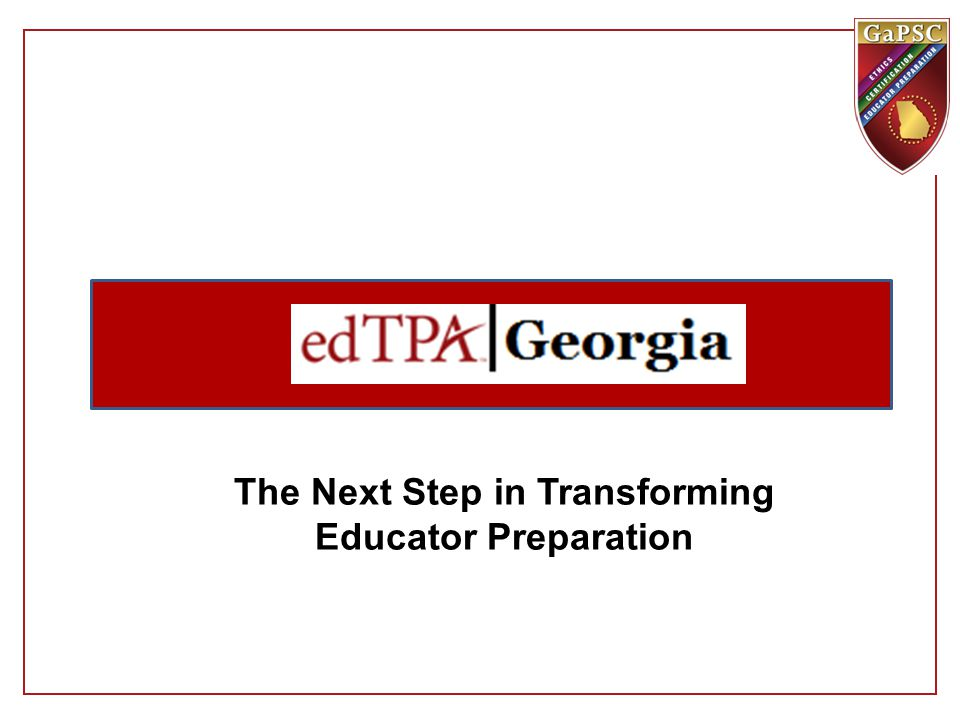 The Next Step in Transforming Educator Preparation