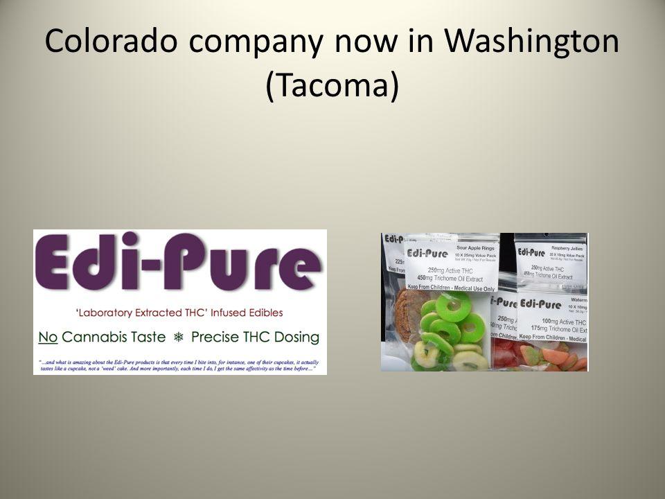 Colorado company now in Washington (Tacoma)