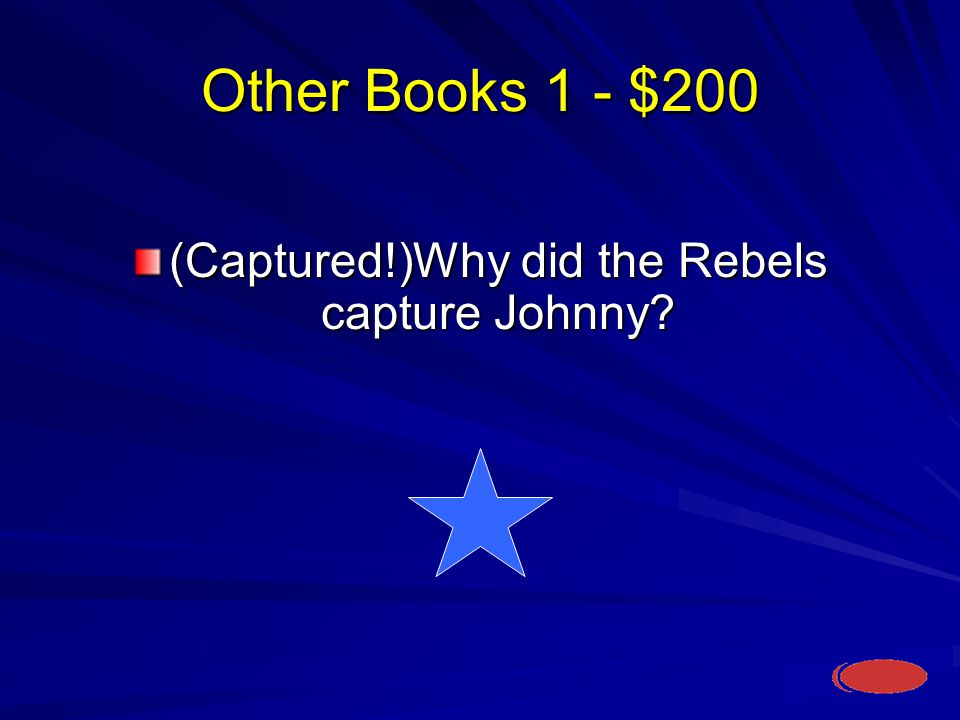 Other Books 1 - $200 What is they captured him for chores.