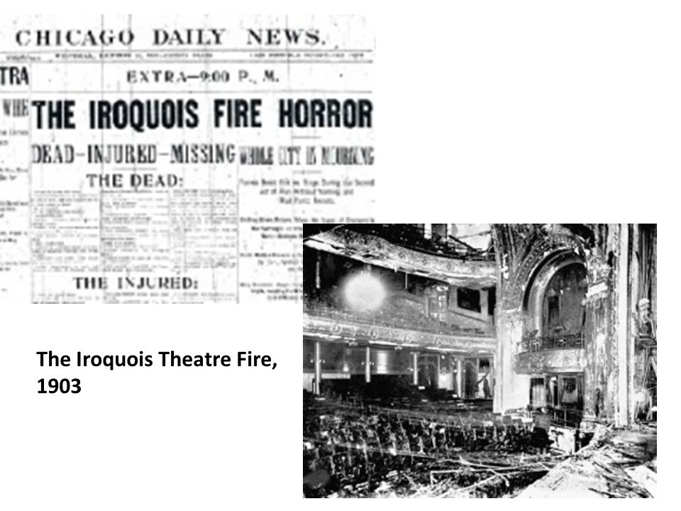 The Iroquois Theatre Fire, 1903