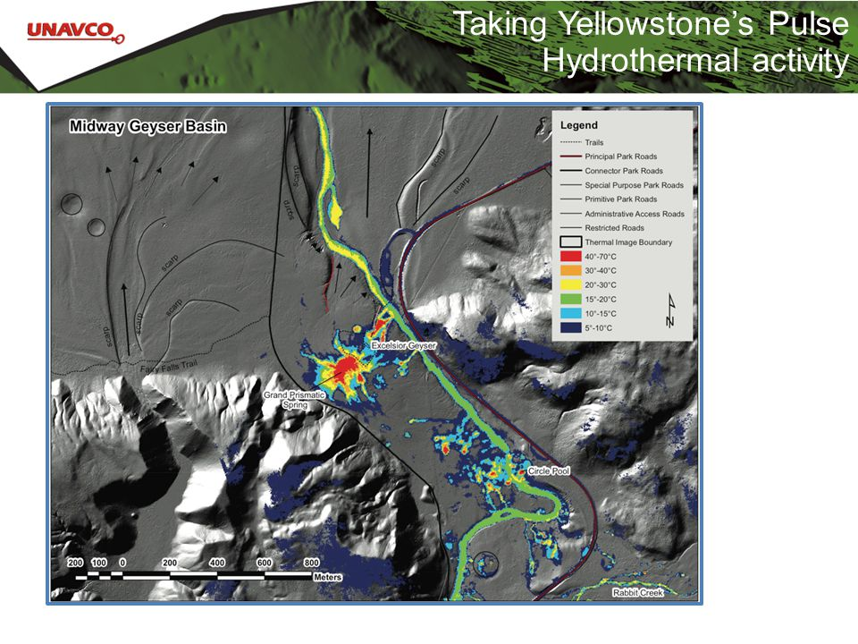 Taking Yellowstone's Pulse Hydrothermal activity