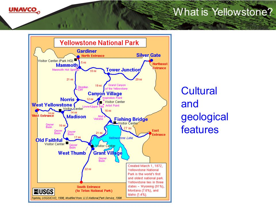 What is Yellowstone? Cultural and geological features