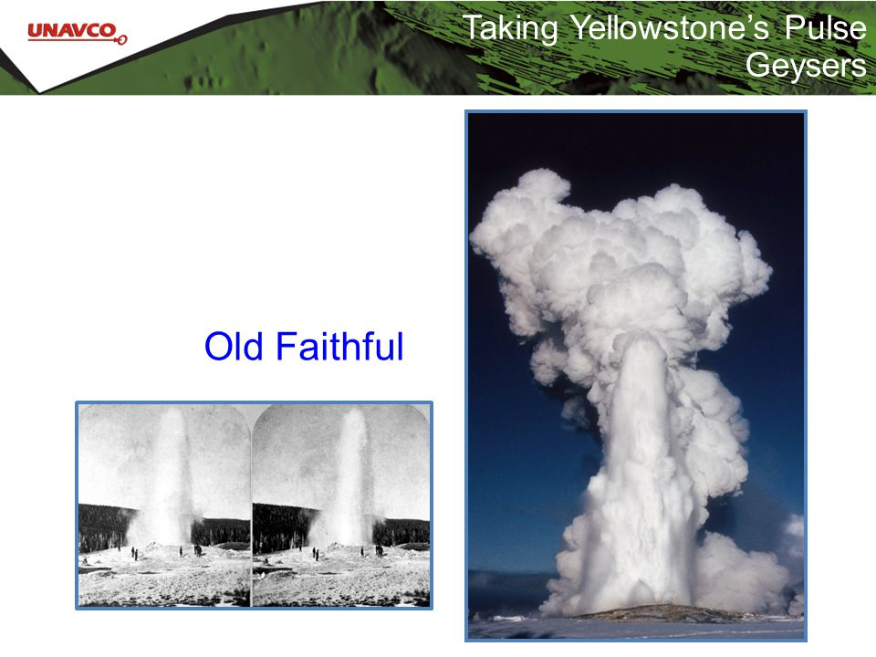 Taking Yellowstone's Pulse Geysers Old Faithful