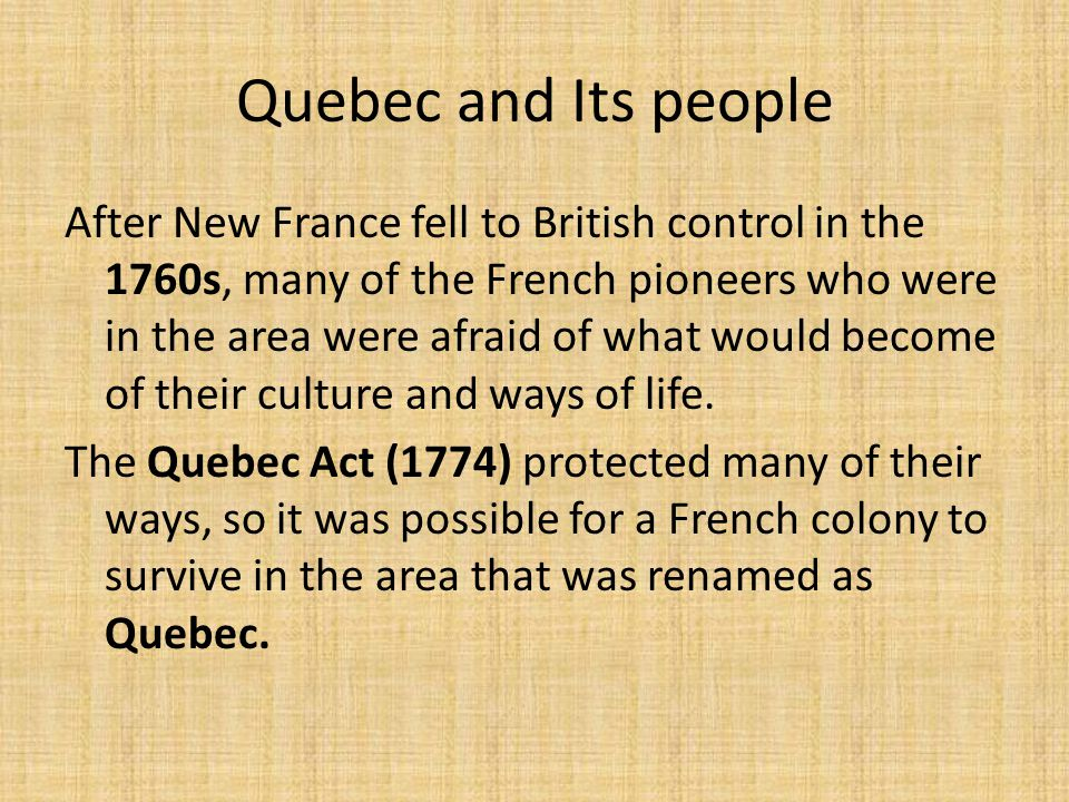 Big Question #2 How did key people and events shape the new British colonies?