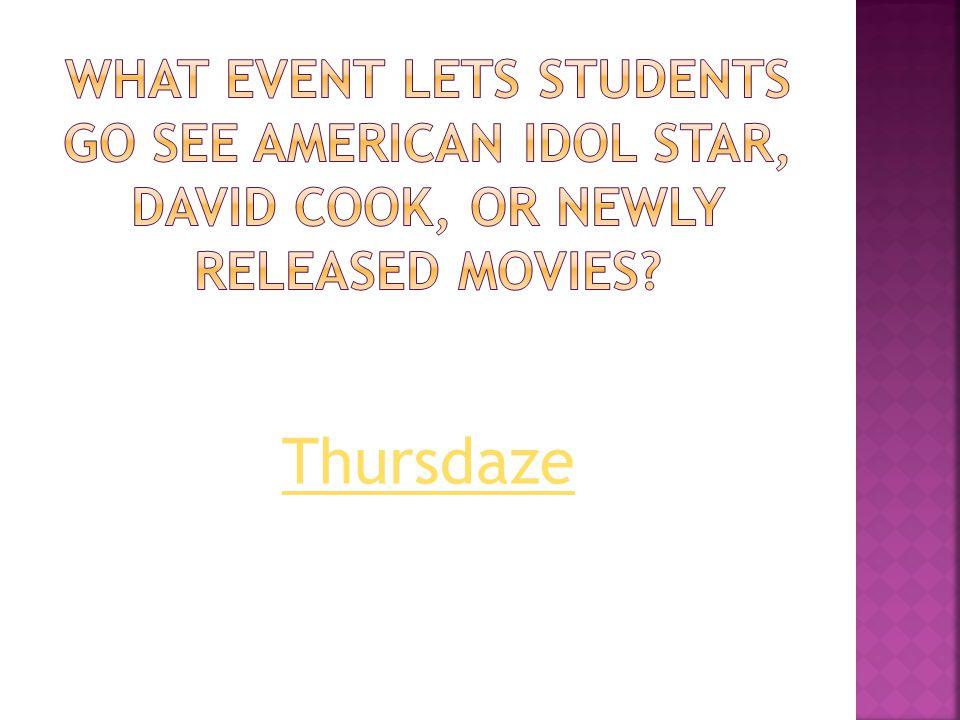 Thursdaze