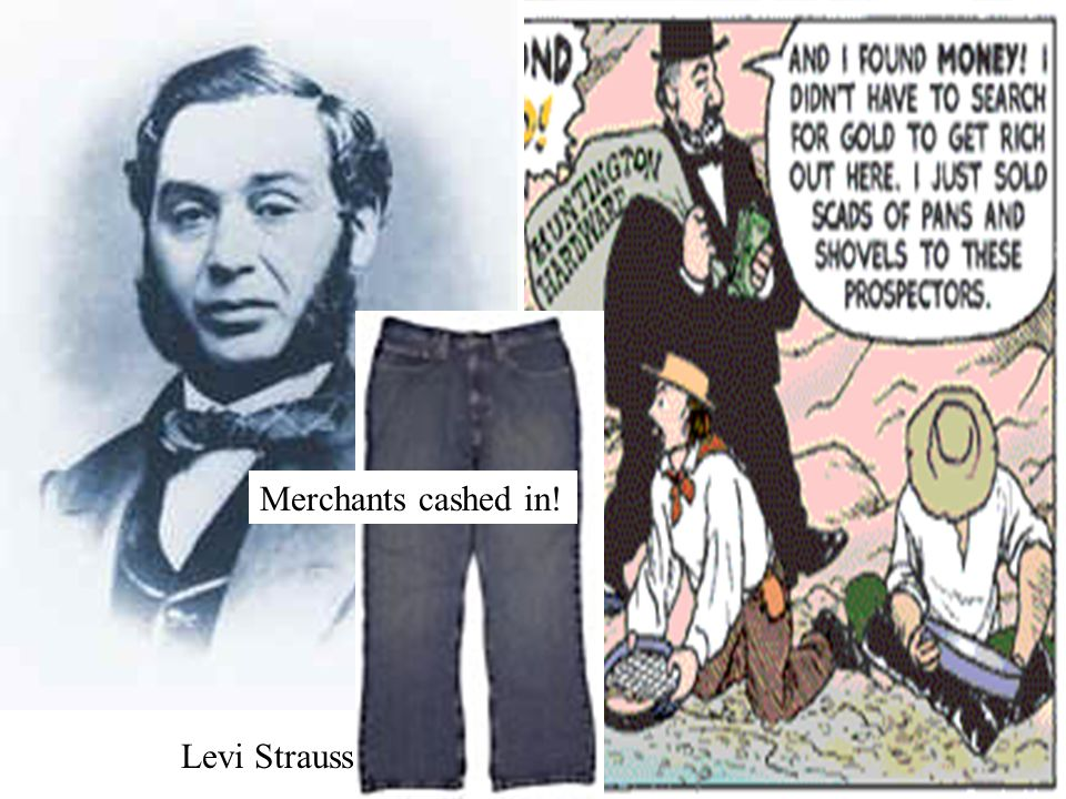 Levi Strauss Merchants cashed in!