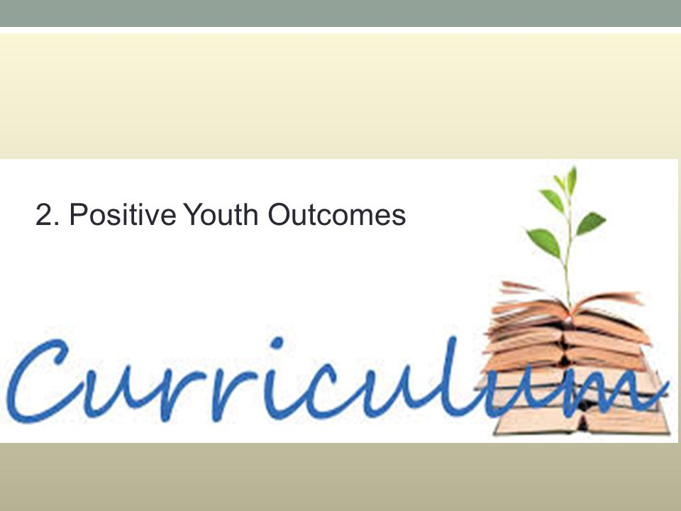 2. Positive Youth Outcomes