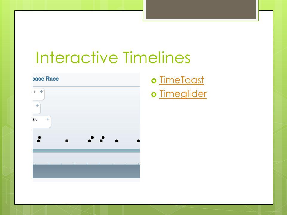 Interactive Timelines  TimeToast TimeToast  Timeglider Timeglider