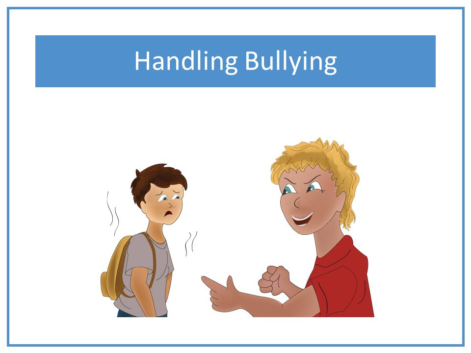 Bullying will not stop unless I stand up against it.