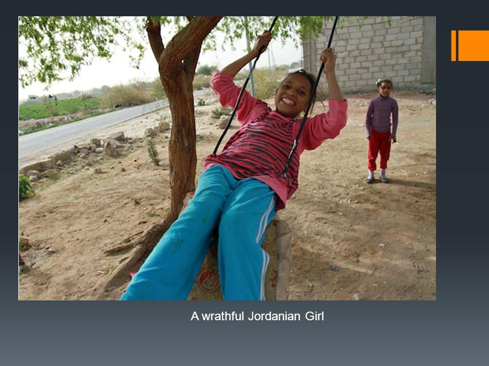 A wrathful Jordanian Girl