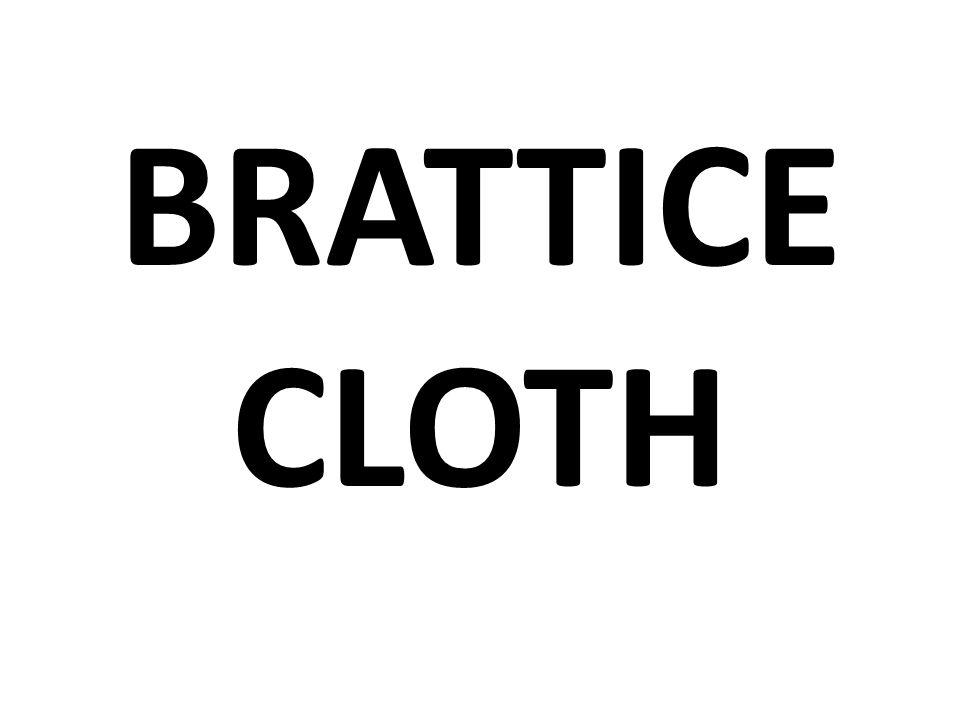BRATTICE CLOTH