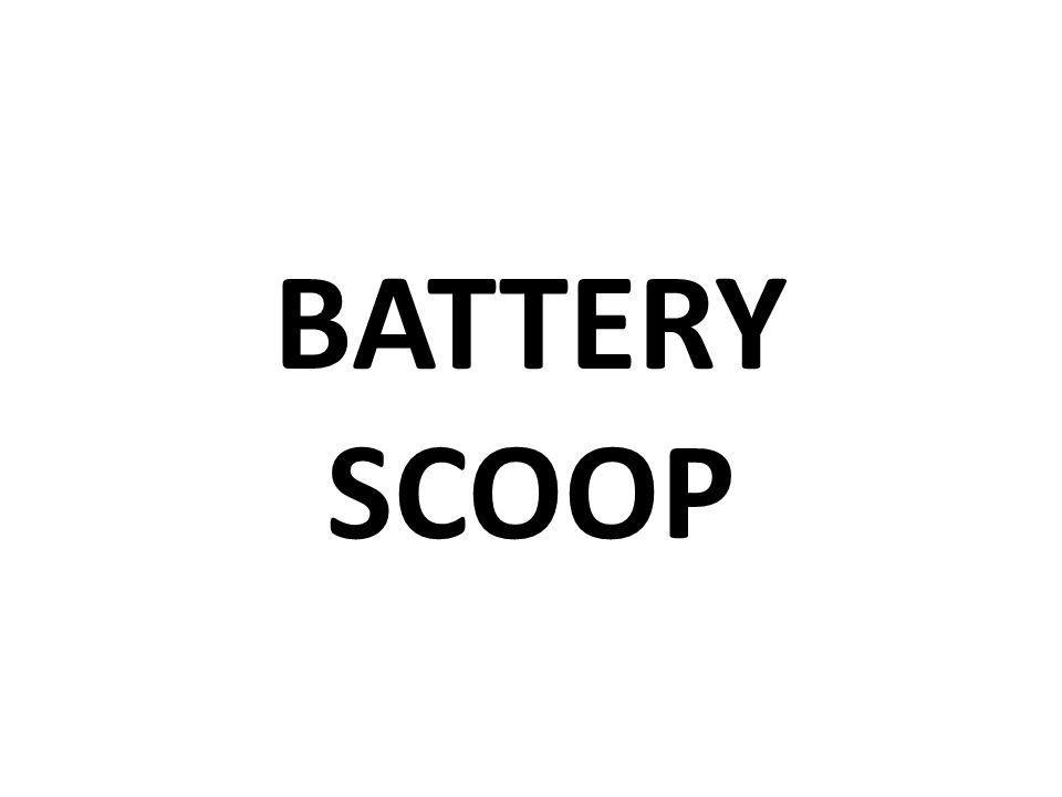 BATTERY SCOOP