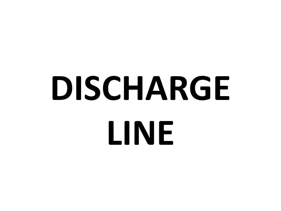DISCHARGE LINE