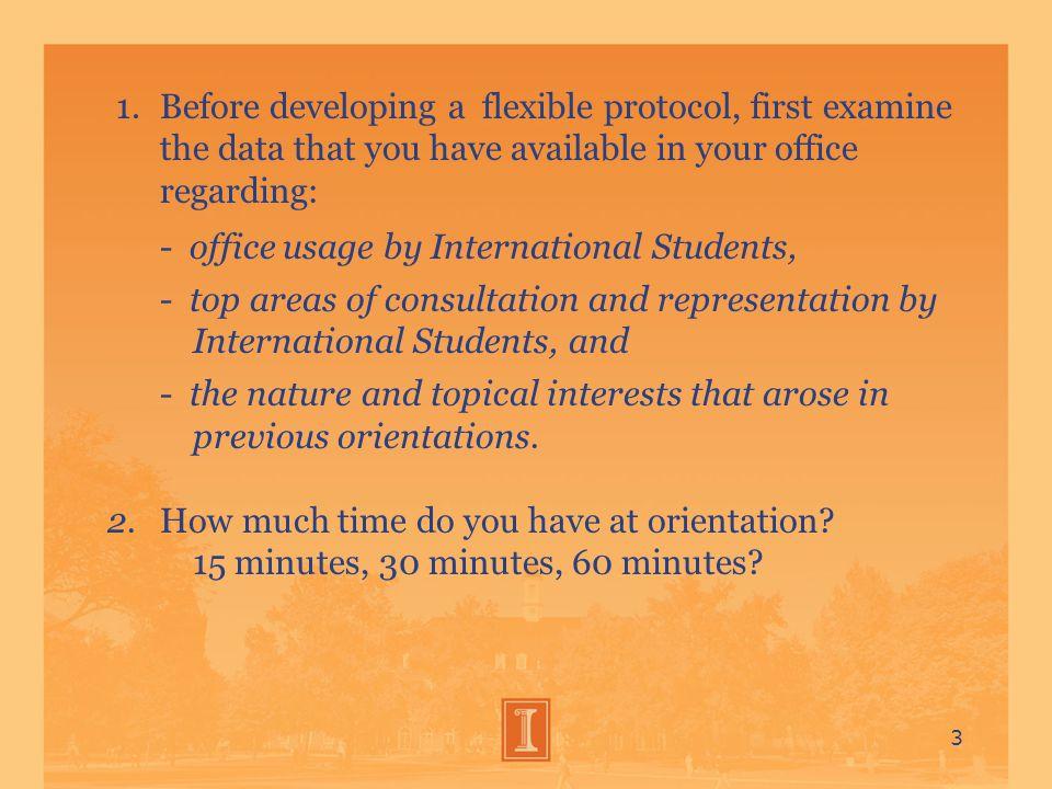 Consultation/Representation Protocol for International Students in Criminal and Quasi-Criminal Interviews 14