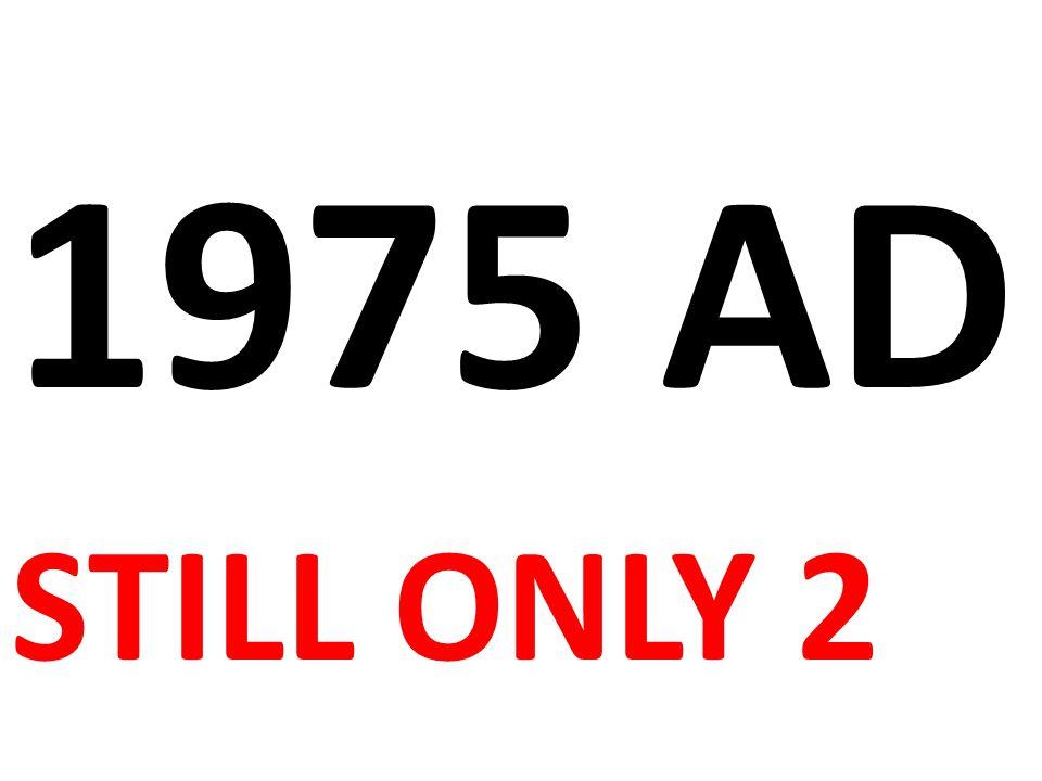 1975 AD STILL ONLY 2