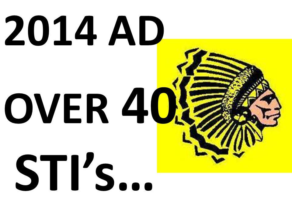 2014 AD OVER 40 STI's…
