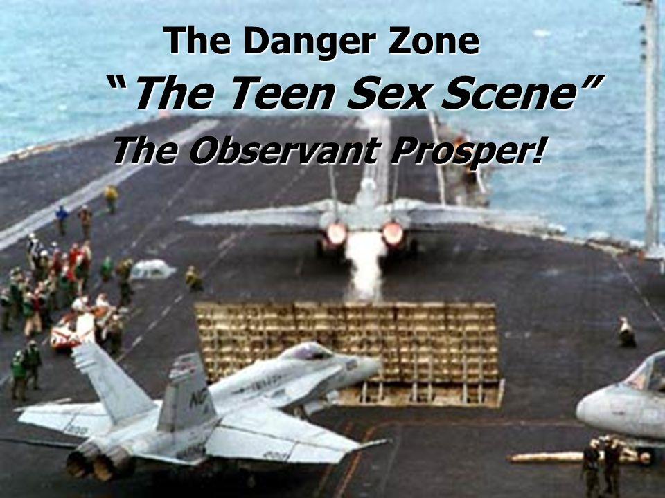 The Danger Zone The Teen Sex Scene The Teen Sex Scene The Observant Prosper!
