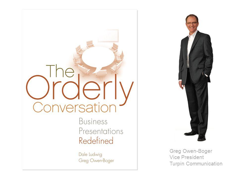 ©2008 Business Presentations Redefine © Turpin Communication 2014 Greg Owen-Boger Vice President Turpin Communication