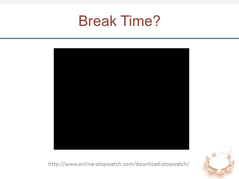 Break Time? http://www.online-stopwatch.com/download-stopwatch/