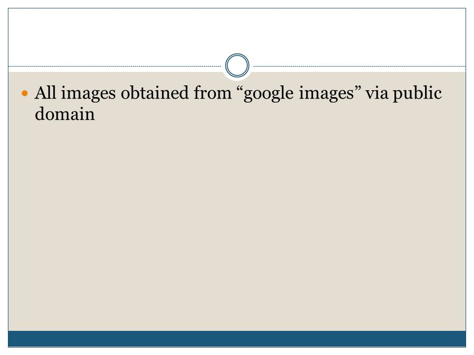 All images obtained from google images via public domain