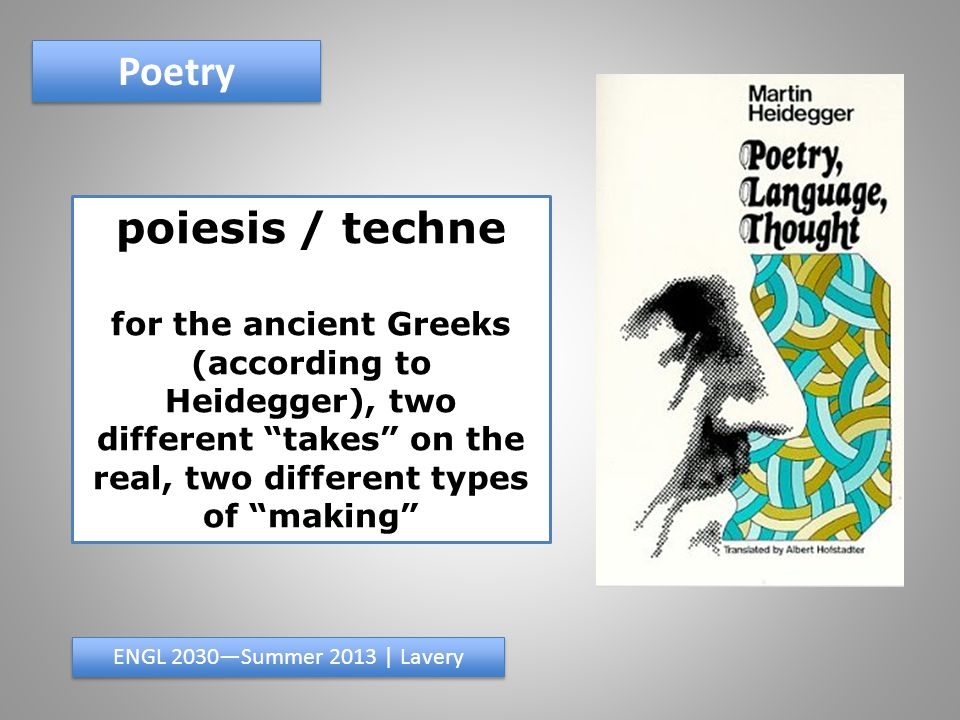 Poetry found poem ENGL 2030—Summer 2013 | Lavery