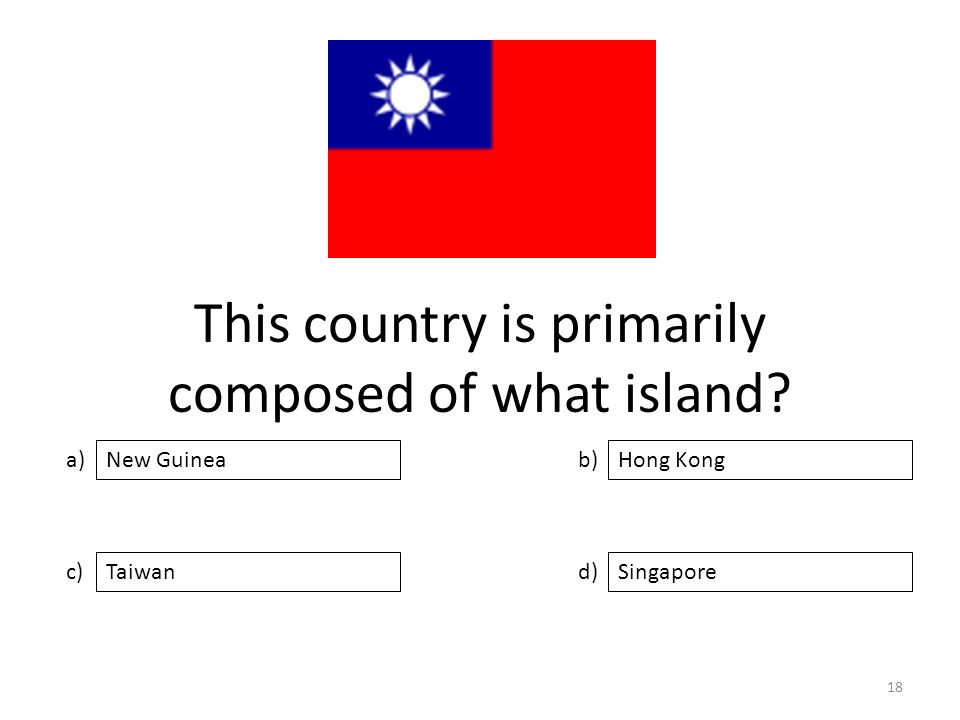 This country is primarily composed of what island.