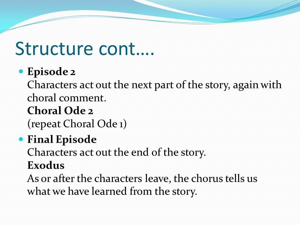 Structure cont….