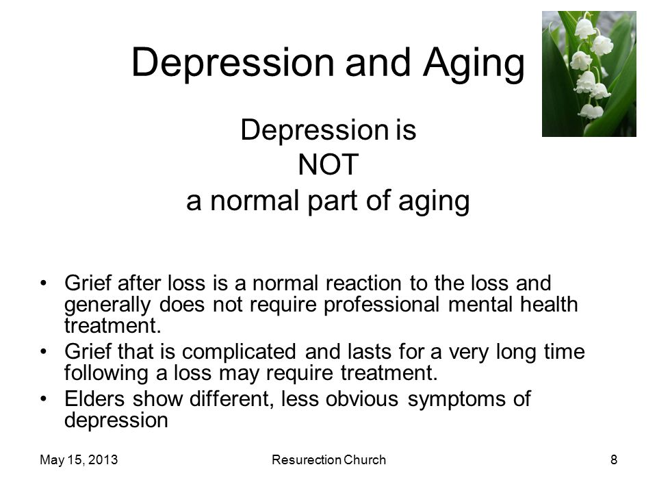 May 15, 2013Resurection Church9 Experiences of Depression Women: More Common.