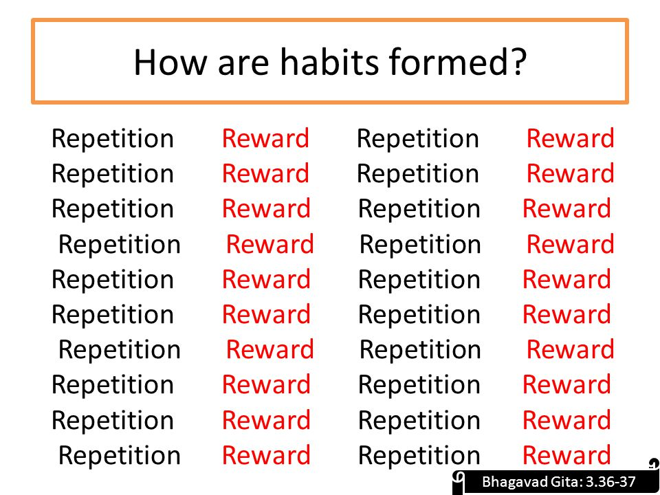 How are habits formed.