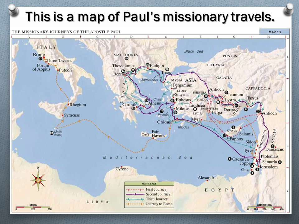 O Paul was called by the Lord to be a missionary and a special witness of Jesus Christ (see Acts 13:2; 20:24). Acts 13:220:24Acts 13:220:24 O He spent