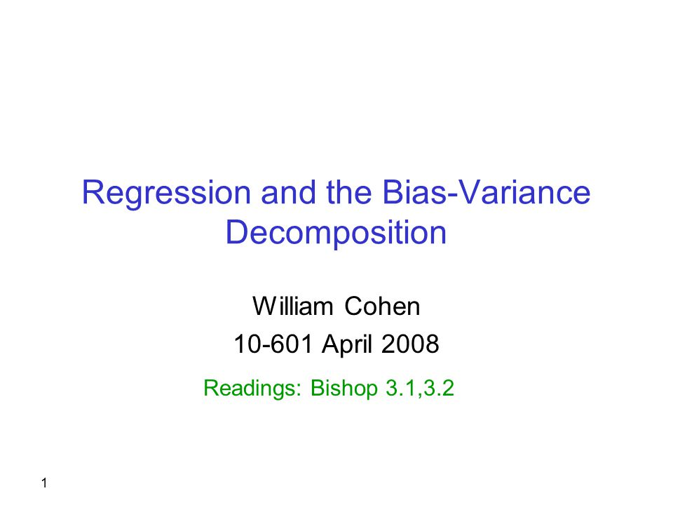 2 Regression Technically: learning a function f(x)=y where y is real-valued, rather than discrete.