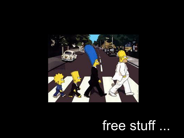 free stuff...