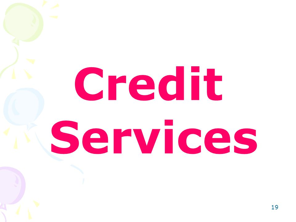 19 Credit Services