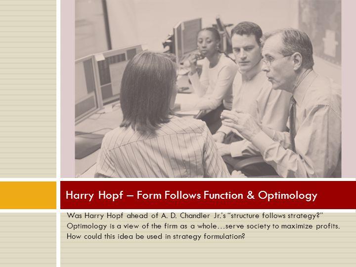 Was Harry Hopf ahead of A.D.