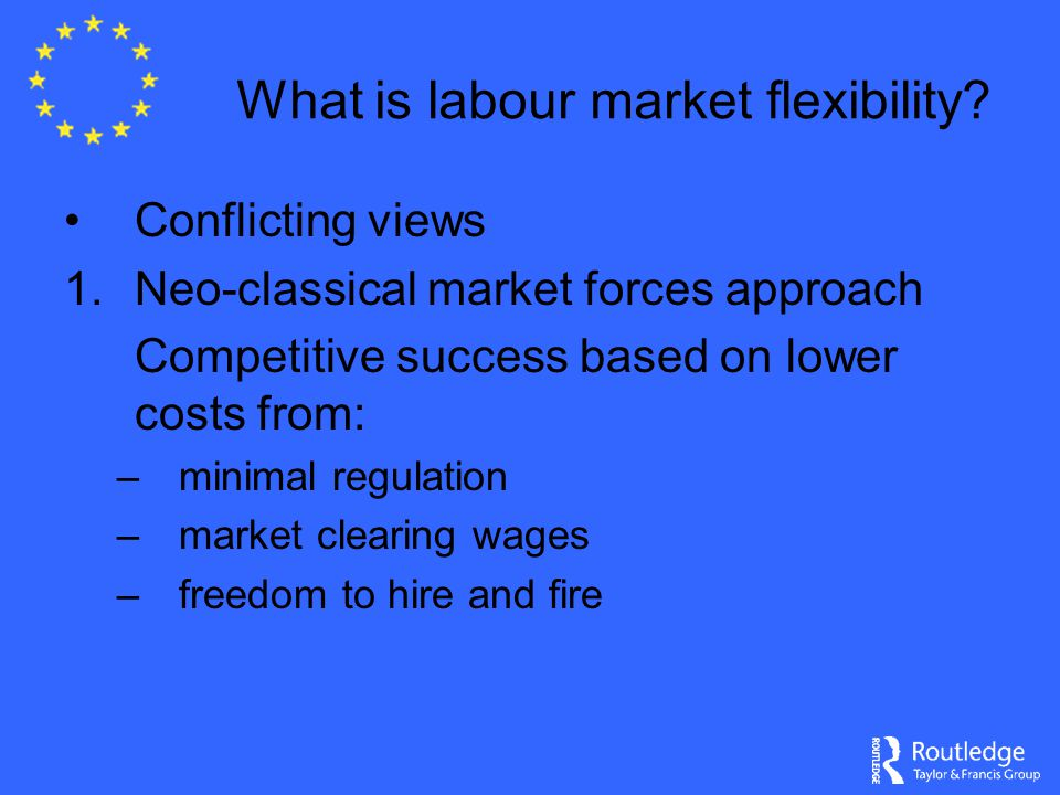 What is labour market flexibility.