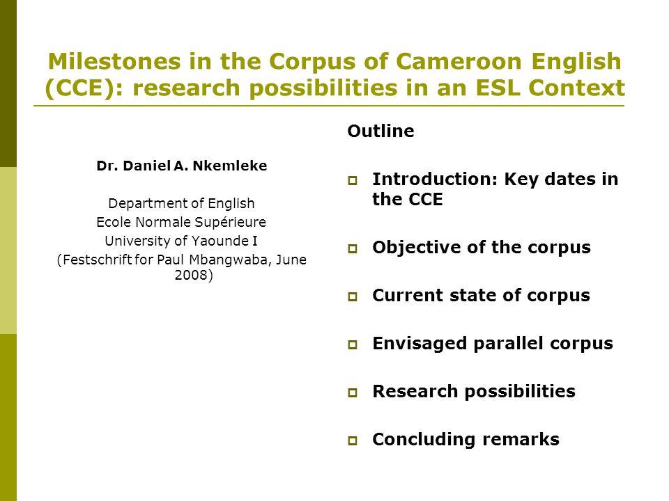 5.Research possibilities (Cont')  Modals -possibility (e.g.