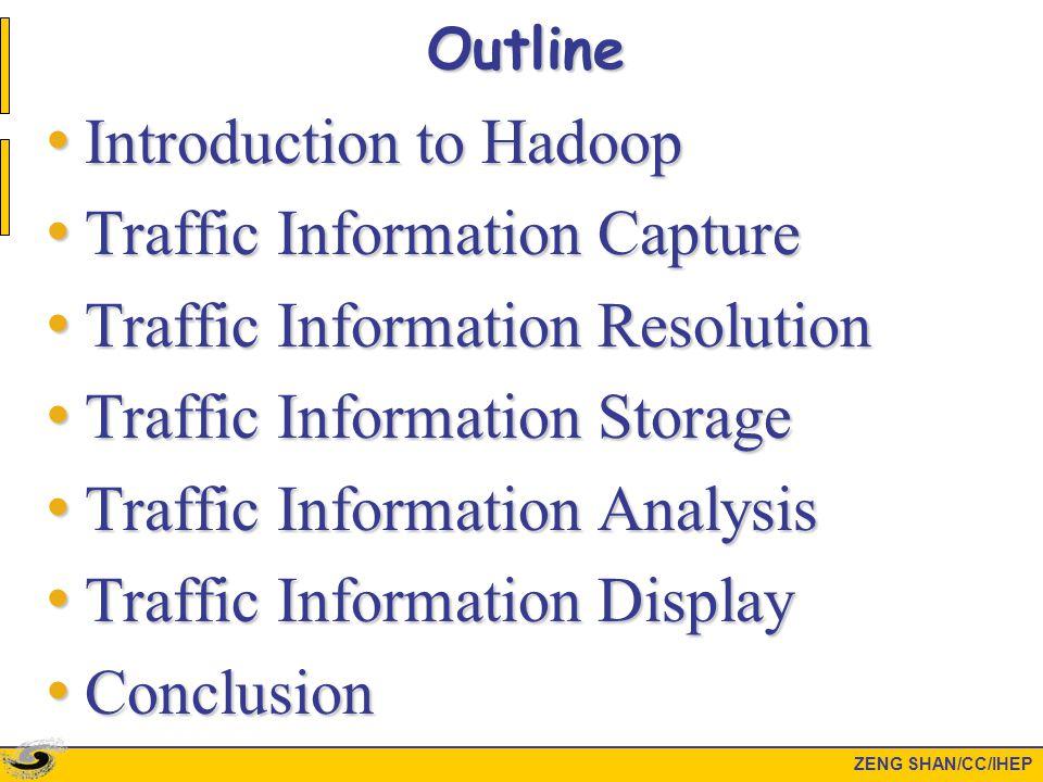Introduction to Hadoop ZENG SHAN/CC/IHEP