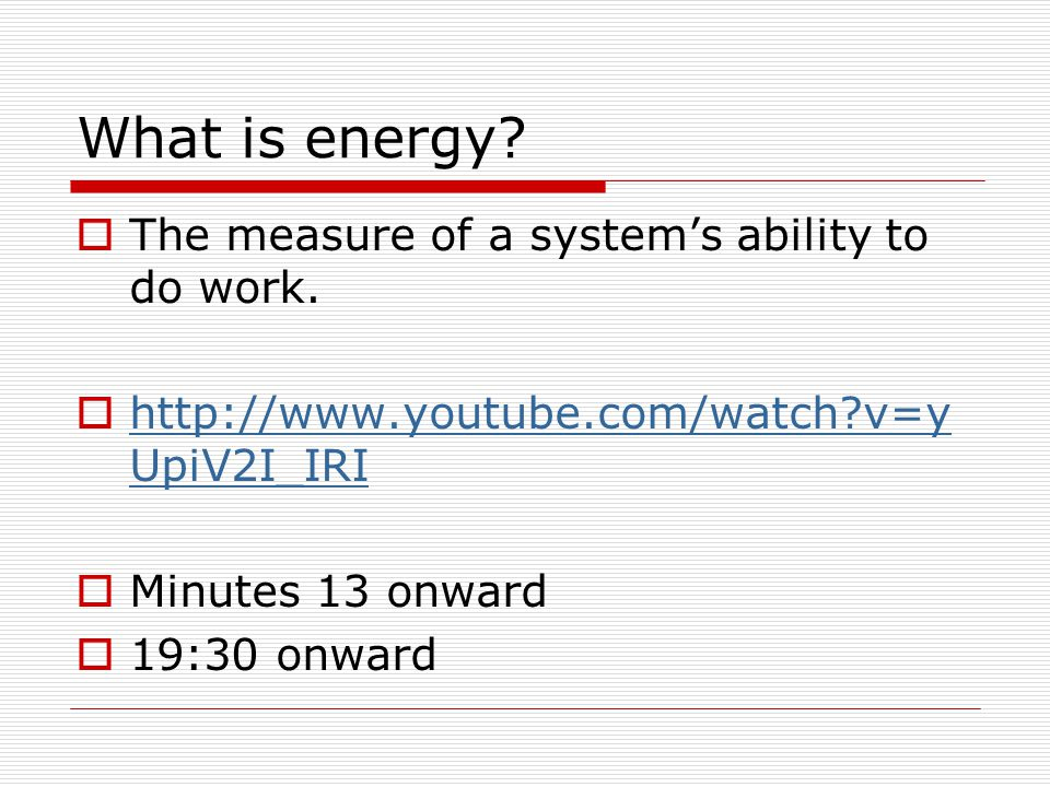Ex 3: Potential Energy and Work What is the work done on a 12kg object to raise it from the ground to a height of 1.5m?