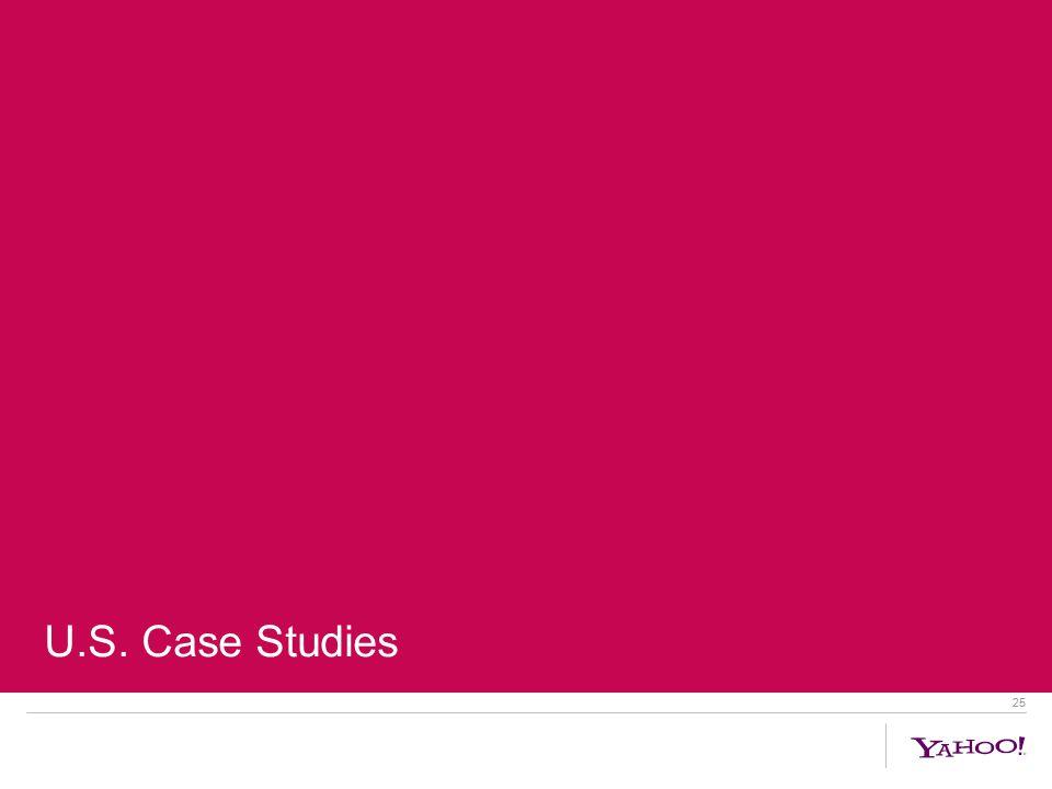25 U.S. Case Studies