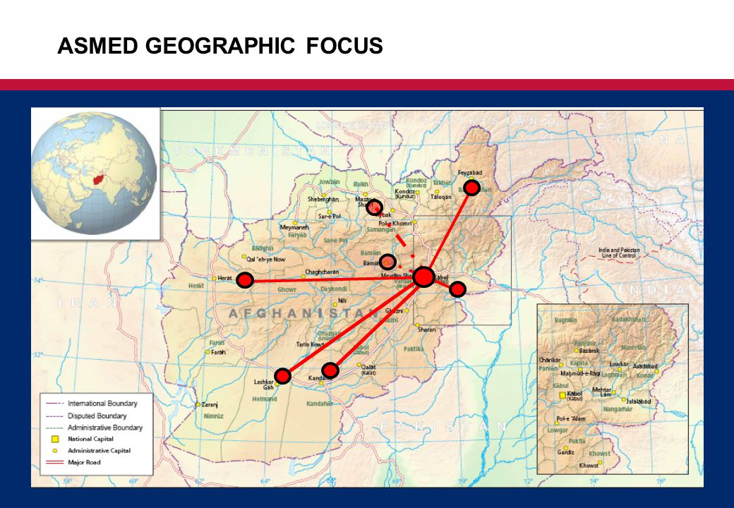 3 ASMED GEOGRAPHIC FOCUS