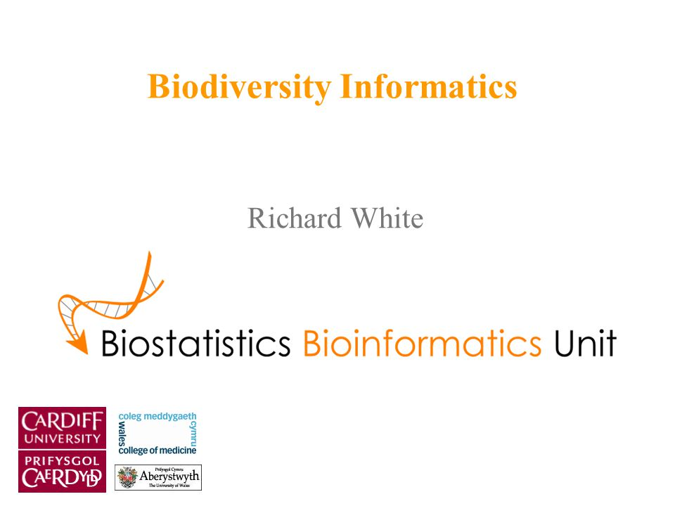 Richard White Biodiversity Informatics