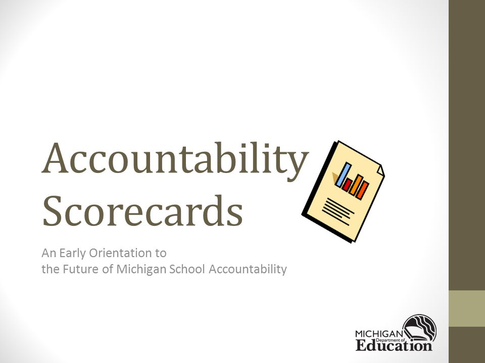 Background Information Michigan applied and was approved for ESEA flexibility for 2012-13 school year and onward.