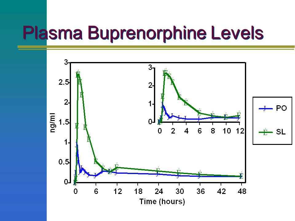 Plasma Buprenorphine Levels