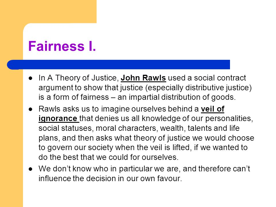 john rawls a theory of justice essay