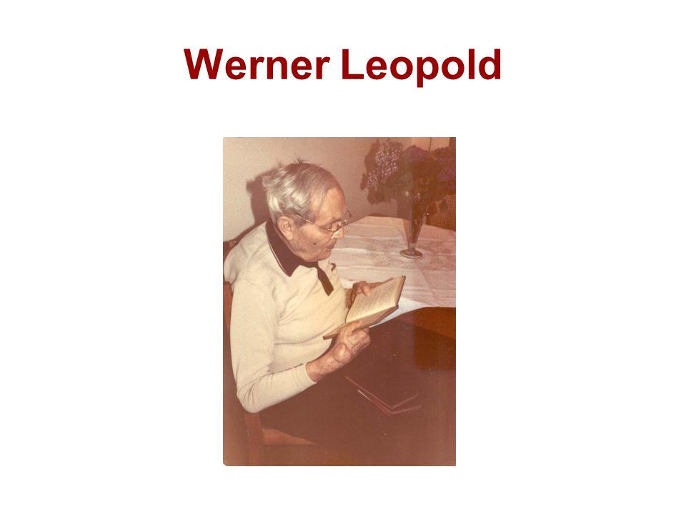 Werner Leopold
