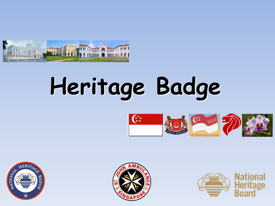 Heritage Badge