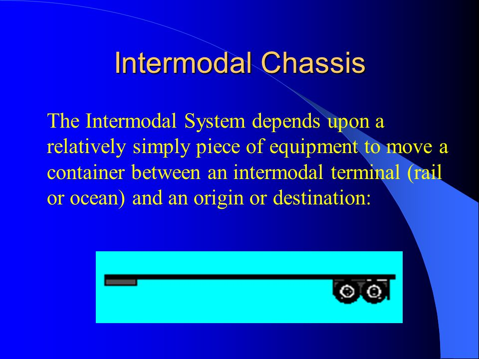 Chassis Pools Chassis pools, historically, had been used by smaller groups of carriers to try to reduce the number of chassis needed to handle growing cargo volumes.