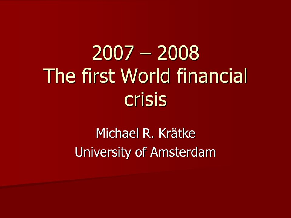The brave new world of international finance: Deregulation The race to reduce / abolish capital controls and foreign exchange controls started in the 1970s The race to reduce / abolish capital controls and foreign exchange controls started in the 1970s It continued throughout the 1980s and 1990s It continued throughout the 1980s and 1990s Two US examples: the repeal of the Glass – Steagall Act of 1933 (in 1999) and the passing of the Futures Modernization Act in 2000 (both still under Clinton) Two US examples: the repeal of the Glass – Steagall Act of 1933 (in 1999) and the passing of the Futures Modernization Act in 2000 (both still under Clinton) By mid – 20th century the financial sector was everywhere highly regulated By mid – 20th century the financial sector was everywhere highly regulated Today, the global financial sector is as liberalized as it was before 1914 Today, the global financial sector is as liberalized as it was before 1914