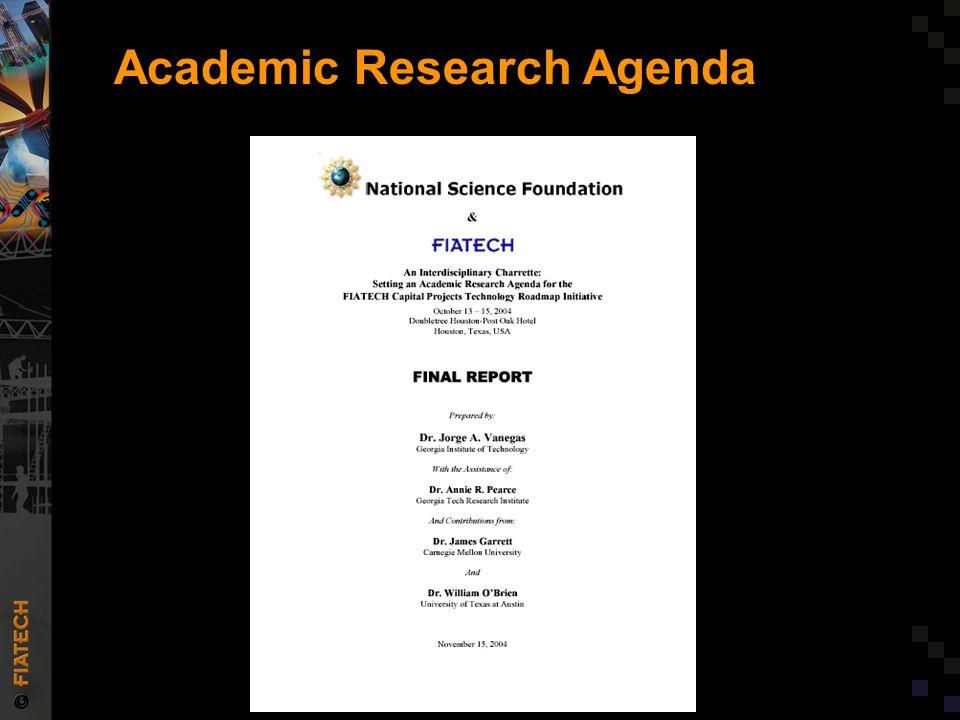 Academic Research Agenda