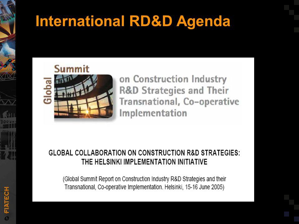 International RD&D Agenda